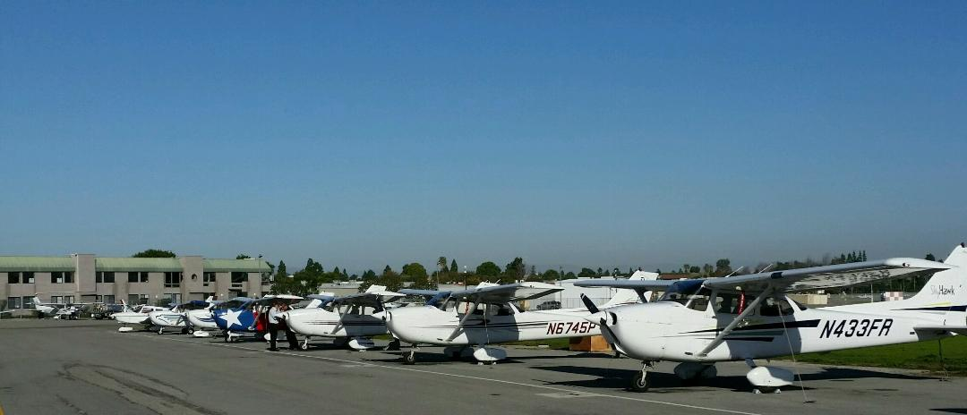 aircraft rentals south bay aviation best flight school flying lessons south bay torrance over beach cities ocean